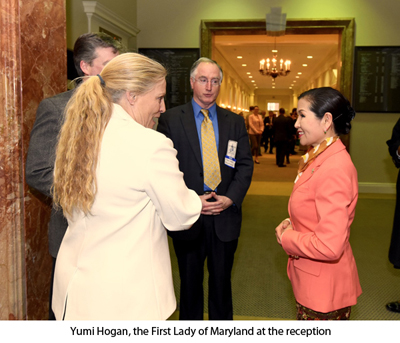 Maryland First Lady at Art Show